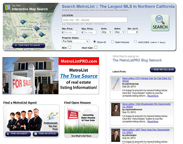 M L S Sacramento properties for sale/real estate news