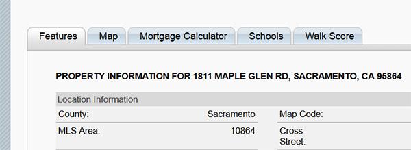 Sacramento schools information/